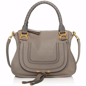 Marcie Medium Leather Satchel